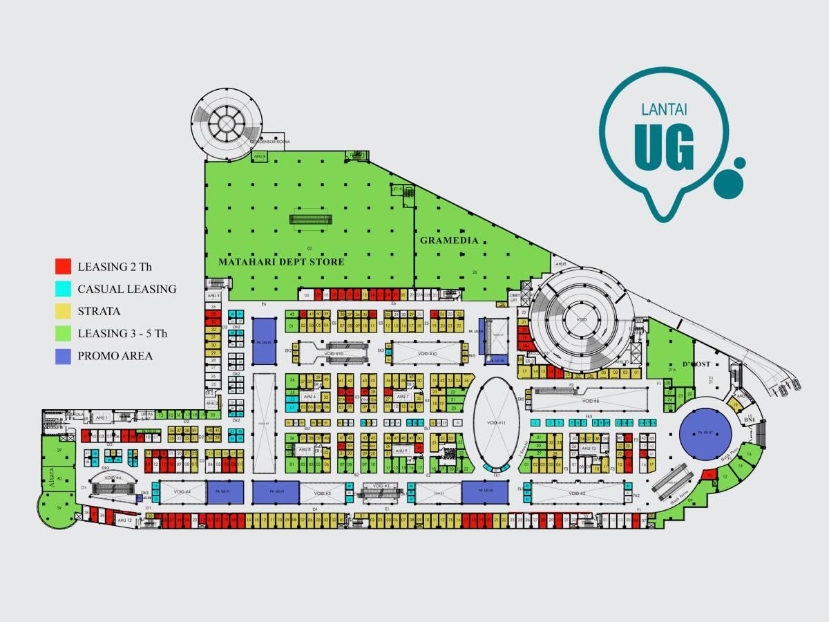 Upper Ground (UG)